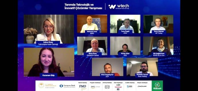 Wtech'in, Tarımda Teknolojik ve İnovatif Çözümler yarışmasında ödüller sahiplerini buldu